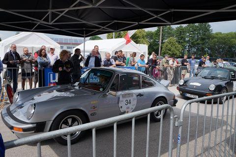 Oldtimer-Rallye DONAU CLASSIC bei Siebenwurst