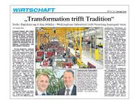 """Transformation trifft Tradition"""
