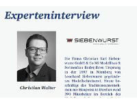 Experteninterview mit Christian Walter zu ausländischen Märkten