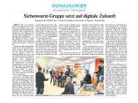 Siebenwurst-Gruppe setzt auf digitale Zukunft